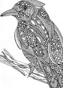 Additional Images of Color Calm Coloring Book by Valentina Harper - ConnectingThreads.com