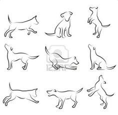 Desenho cachorro