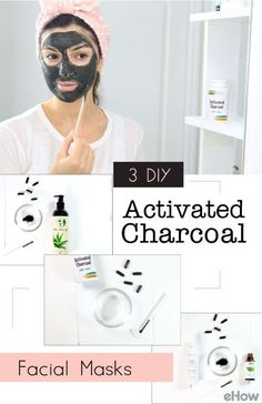 DIY activeted charcoal facial masks so easy to make you won't believe it! Activated charcoal has an adsorptive quality that allows it to bind to dirt, oil and environmental pollutants, lifting them from the skin. It's inexpensive and easy to find at pharmacies and health food stores. Get in on the trend here: http://www.ehow.com/how_7203747_charcoal-facial-mask-instructions.html?utm_source=pinterest.com&utm_medium=referral&utm_content=freestyle&utm_campaign=fanpage