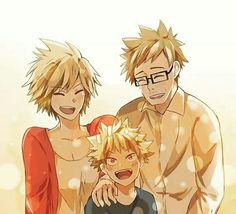 Boku no Hero Academia    Family Katsuki