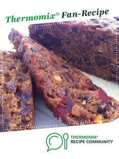 Recipe pineapple fruit cake by Queen Mixer, learn to make this recipe easily in your kitchen machine and discover other Thermomix recipes in Baking - sweet. Vegan Fruit Cake, Rum Fruit Cake, Chocolate Fruit Cake, Fresh Fruit Cake, Homemade Cake Recipes, Fruit Recipes, Sweet Recipes, Cooking Recipes, Fruit Cake Design