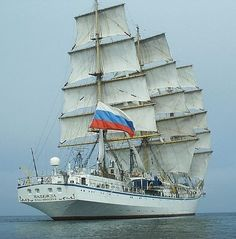 #Ships - Nadezhda, tall ship