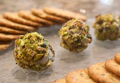 Goat Cheese balls were a Christmas favorite this year.  Get the recipe on https://www.facebook.com/FoodieAGoGo