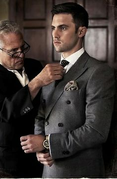 Cool-style. Splurge on yourself at least once in your life,get a suit made & tailored just for you.