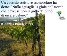 """""""Rien n'égale la joie de l'homme qui boit, si ce n'est la joie du vin d'etre bu.""""  Charles Baudelaire - Les Paradis artificiels"""