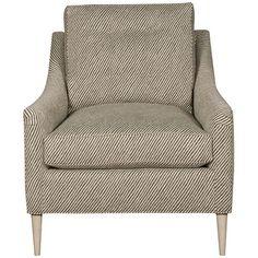 Vanguard Furniture Rockford Mocha Lydia Button-Back Chair
