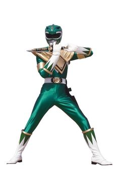 Mighty Morphin Green Ranger #SonGokuKakarot