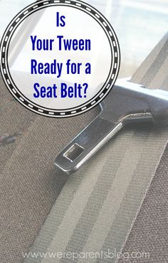Learn Seat Belt Safety Tips For Tweens In The 8 14 Age Range Attachment