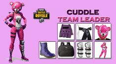 HAVE YOUR OWN CUDDLE TEAM LEADER FROM FORTNITE GAME Diy Costumes, Halloween Costumes, Cosplay Diy, Halloween Makeup Looks, Team Leader, Costume Makeup, Cuddling, Battle, Superhero