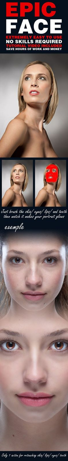 DOWNLOAD:goo.gl/C4v6VW Simple and fast way to retouch skin images in photoshop?... this is the simple preset you need. Professional results & save time.This Photoshop action separates the skin ...