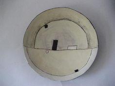 pale yellow line goodness. Plate by Clementina van der Walt