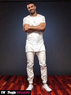 Sam Hunt at the 2015 CMT awards People Magazine Photo Booth