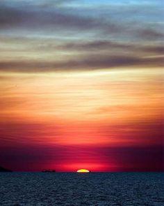 Sunset at Sea - Thailand