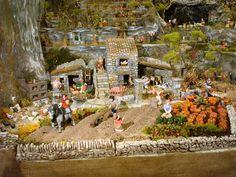 Cher(e)s ami(e)s, Je vous propose de découvrir ma crèche de Noël 2012 dont le thème central est consacré aux travaux des champs. Pour rappel, le thème change chaque année, plusieurs thèmes sont proposés et le choix est fait en famille, choix difficile...