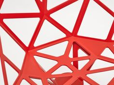 Details we like / Pattern / Structure / RED / Chair one / Gricic / at inspiration