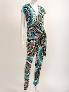 Catsuit in stretch viscose prints www.studioanneloes.nl