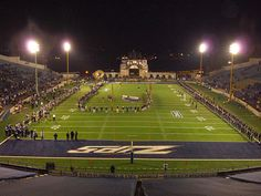 The Rubber Bowl...home of the University of Akron Zips prior to the new mega statdium.