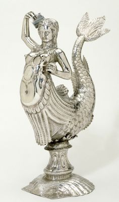 Silver Mermaid Ewer Maker unknown