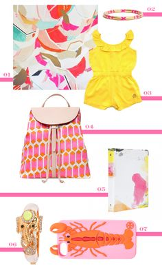 This Tutti Frutti roundup feels like summer; love these colors! #summertime