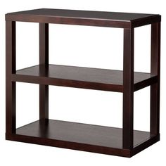 $80 Threshold Console Bookcase - Espresso