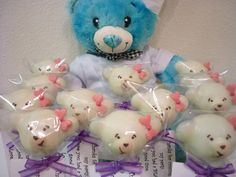 Build-a Bear party cake pops