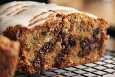 **Made This ***Chocolate Chip Zucchini Bread... yummy, next time I will make more topping!!