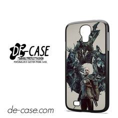 Witcher 3 Wild Hunt Geralt DEAL-11964 Samsung Phonecase Cover For Samsung Galaxy S4 / S4 Mini