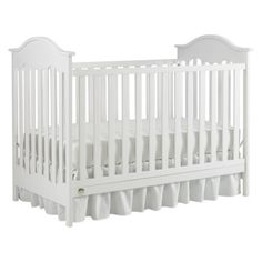 affordable crib from target Fisher-Price Charlotte 4-in-1 Convertible Crib - Snow White