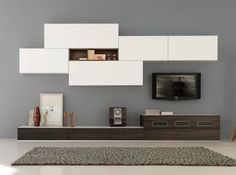 Italian Wall Unit Velvet 905 by Artigian Mobili - $5,255.00