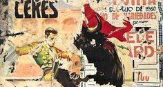 «La poésie de la métropole. Les Affichistes». Muito interessante essa exposição. Wolf Vostell, «Ceres», 1960. Décollage, 203 x 135 cm. GbR Gaedeke (Bernd Borchardt, Berlin / 2014 ProLitteris, Zurich; Basel).