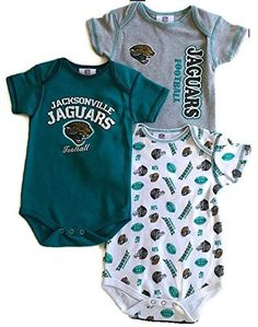 Compare prices on Jacksonville Jaguars Onesie from top sports fan gear  retailers. Baby NFL Gear c90db577f