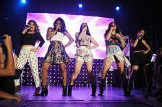 Fifth Harmony-Allyson (Ally) Brooke Hernandez, Normani Kordei Hamilton, Lauren Michelle Jauregui, Dinah Jane Hansen, and Karla Camila Cabello