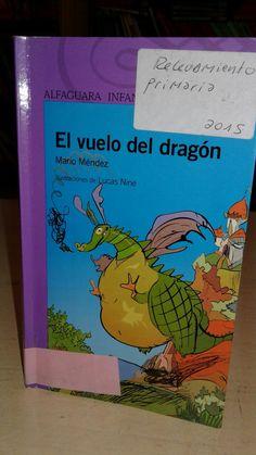"""Libro autografiado por Mario Méndez  """" El vuelo del dragón"""". Mario, Books, November, Dragons, Libros, Book, Book Illustrations, Libri"""