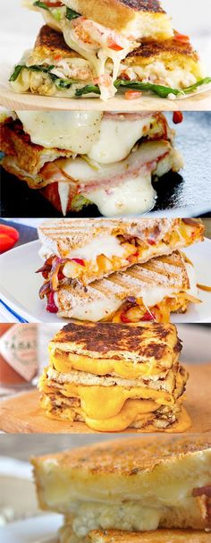 Still not convinced that there's more than one way to spice up that ordinary grilled cheese sandwich? That's right, ham isn't the only one playing a cameo in our extraordinary grilled cheese recipes. Check out all the deets here: http://www.cheeserank.com/culture/insane-grilled-cheeses-recipes-sandwiches/