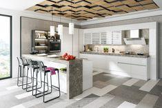 Dizajnové kuchyne - dotkuchyne.sk House Design, Kitchen, Table, Furniture, Home Decor, Cooking, Decoration Home, Room Decor, Kitchens