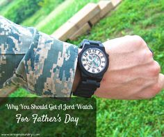 Why You Should Get A Jord Watch For Father's Day