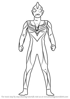10 Mewarnai Gambar Ultraman Kalender Pinterest Coloring Pages