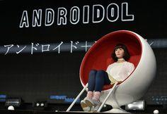 Androide será presentadora de un programa de TV