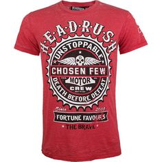 Headrush Unstoppable Shirt - MMAWarehouse.com - MMA Gear, MMA Clothing, MMA Shorts, MMA Gloves, MMA Shirts and more! - for my Chris. All day long!