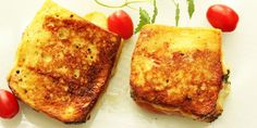 Pandorato - Pandorato er en kul italiensk sandwich du steker i panna. Med mozzarella och spekeskinka