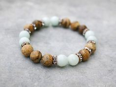 Bracelet en perles Perles Bracelet extensible de Yoga