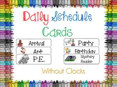 Excellent Photo daily schedule organization Ideas Habits are powerful, but they're difficult to form—particularly good habits. Creating a schedule Classroom Design, School Classroom, Classroom Setup, Classroom Lables, Autism Classroom, Kindergarten Classroom, Future Classroom, Free Schedule Cards, Classroom Daily Schedule