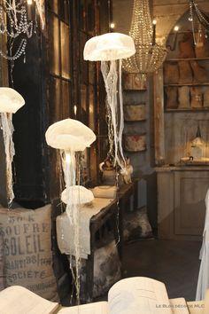 Les si belles lampes Méduses (Vox populi): tout en poésie! ☆ Brocante, déco vintage industrielle brocante campagne