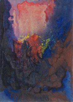 """Saatchi Art Artist Johann Nußbächer; Painting, """"blue 6"""" #art"""