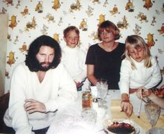 Jim invites himself to dinner  Lana met Jim Morrison at the famous Whisky-a-Go-Go in 1969. One day, after Jim had wrecked his car and had no way home, Lana took him to her Hollywood bungalow above Sunset Blvd. The next morning, Jim invited himself along to dinner with her family in Granada Hills. She was embarrassed and wanted to go alone, but he insisted on coming along.