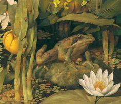 frog song illustration gennady spirin
