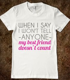 Best Friend Secrets - That's So Presh - Skreened T-shirts, Organic Shirts, Hoodies, Kids Tees, Baby One-Pieces and Tote Bags