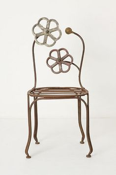 A funky little chair!