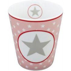 Krasilnikoff Happy Mug - Pink Big Star