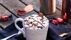 En värmande chokladdryck gjord på Dumle och Nutella - Mitt kök